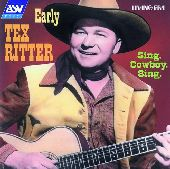 Album artwork for Tex Ritter : SING, COWBOY, SING