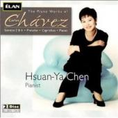 Album artwork for Piano Works of Carlos Chavez / Hsuan-Ya Chen