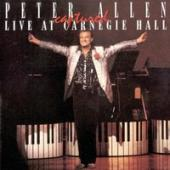 Album artwork for Peter Allen: Captured Live at Carnegie Hall