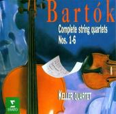 Album artwork for BARTOK: STRING QUARTETS NOS.1-6