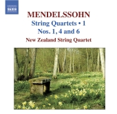 Album artwork for Mendelssohn: String Quartets nos. 1, 4 & 6