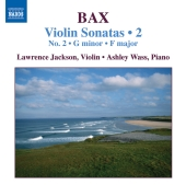 Album artwork for Bax: Violin Sonatas Vol. 2