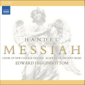 Album artwork for Handel: Messiah (1751 version - Higginbottom)