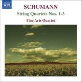 Album artwork for Schumann: String Quartets 1-3 / Fine Arts Quartet