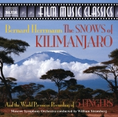Album artwork for Herrmann: The Snows of Kilimanjaro