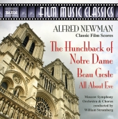 Album artwork for NEWMAN: THE HUNCHBACK OF NOTRE DAME / BEAU GESTE /