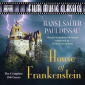 Album artwork for SALTER/DESSAU: HOUSE OF FRANKENSTEIN