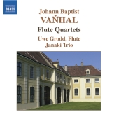 Album artwork for VANHAL: FLUTE QUARTETS