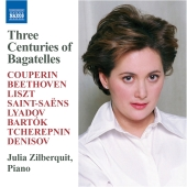 Album artwork for Three Centuries of Bagatelles: Couperin, Beethoven