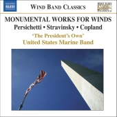 Album artwork for MONUMENTAL WORKS FOR WINDS