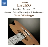 Album artwork for LAURO: GUITAR MUSIC, VOL. 2