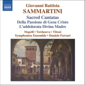 Album artwork for SACRED CANTATAS FOR SOLOISTS, ORCHESTRA AND BASSO