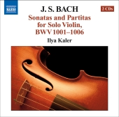 Album artwork for Bach: Sonatas & Partitas for solo violin BWV1001-1