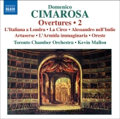 Album artwork for CIMAROSA: OVERTURES 2
