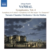 Album artwork for Vanhal: Symphonies Vol. 4