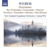Album artwork for Weber: Overtures (Wit)