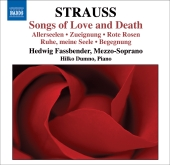 Album artwork for STRAUSS: SONGS OF LOVE AND DEATH