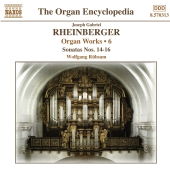 Album artwork for RHEINBERGER: ORGAN WORKS VOL. 6