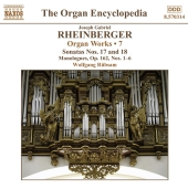 Album artwork for Rheinberger: Organ Works Vol. 7 (Rubsam)