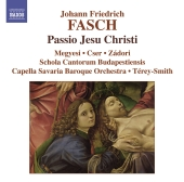 Album artwork for FASCH: PASSIO JESU CHRISTI