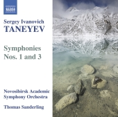 Album artwork for Taneyev: Symphonies Nos. 1 & 3