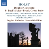 Album artwork for Holst: Double Concerto / Griffiths, Graham, Ewins