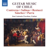 Album artwork for Jose Antonio Escobar: Guitar Music of Chile
