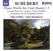 Album artwork for SCHUBERT: PIANO WORKS FOR FOUR HANDS