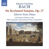 Album artwork for Bach: Six Keyboard Sonatas, Op. 17 (Nose)