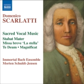 Album artwork for SCARLATTI: STABAT MATER