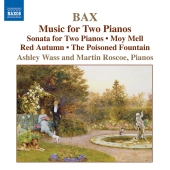 Album artwork for BAX: MUSIC FOR TWO PIANOS