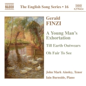 Album artwork for THE ENGLISH SONG SERIES 16: FINZI