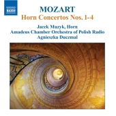 Album artwork for Mozart: Horn Concertos 1-4