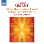 Album artwork for Simaku: String Quartets Nos. 2 & 3