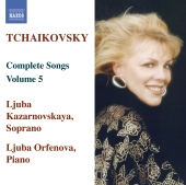 Album artwork for Tchaikovsky: Complete Songs Vol. 5