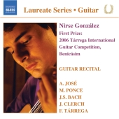 Album artwork for NIRSE GONZALEZ: GUITAR RECITAL