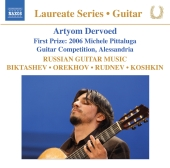 Album artwork for Artyom Dervoed: Russian Guitar music