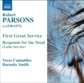 Album artwork for PARSONS: FIRST GREAT SERVICE