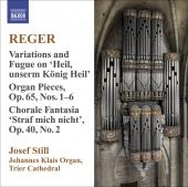 Album artwork for Reger: Organ Works Vol. 9