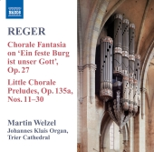 Album artwork for Reger: Organ Works Vol. 8