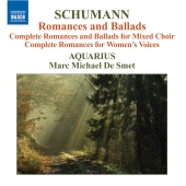 Album artwork for SCHUMANN: ROMANCES AND BALLADS