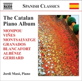 Album artwork for JORDI MASO: THE CATALAN PIANO ALBUM