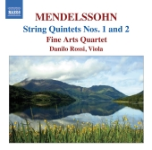 Album artwork for Mendelssohn: String Quintets Nos. 1 & 2 (Fine Arts