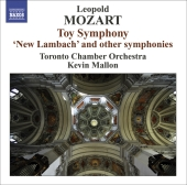 Album artwork for Leopold Mozart: Toy Symphony & Others (Mallon)