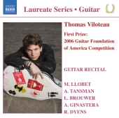 Album artwork for THOMAS VILOTEAU: GUITAR RECITAL