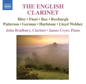 Album artwork for John Bradbury: The English Clarinet
