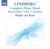 Album artwork for LINDBERG - COMPLETE PIANO MUSIC