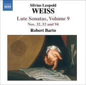 Album artwork for Weiss : Lute Sonatas, VOL. 9