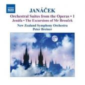 Album artwork for Janacek: Orchestral Suites from the Operas Vol. 1
