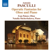 Album artwork for Pasculli: Oboe Fantasias for Oboe and Piano (Paiso